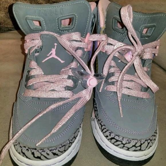 new product 90223 93b43 Girl Jordan Spizikes size 4y women size 6